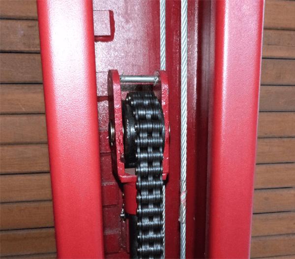 elevador hidraúlico corrente