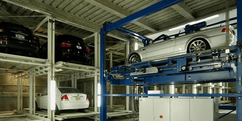 Como é o Estacionamento Robotizado da China