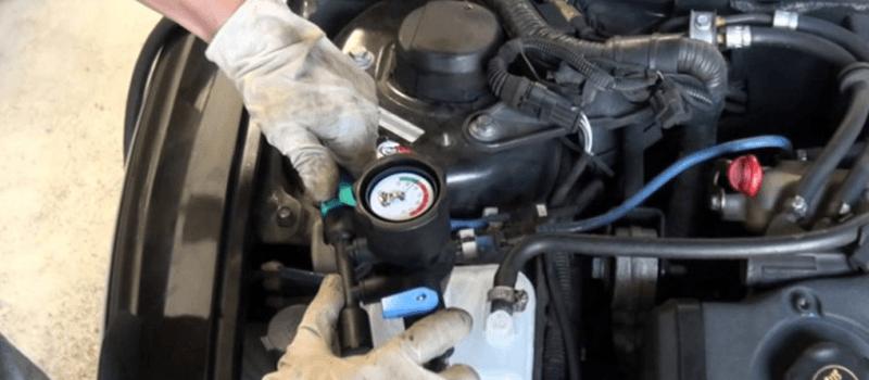 O que fazer quando o motor ferve?