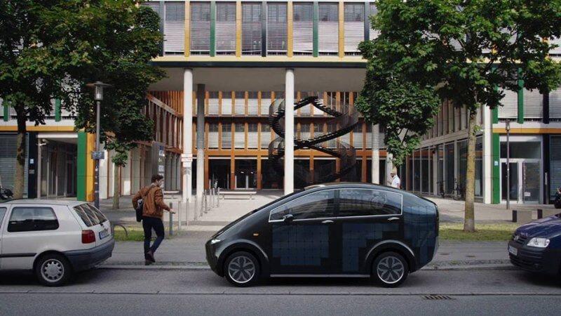Carro movido a energia solar – Sion